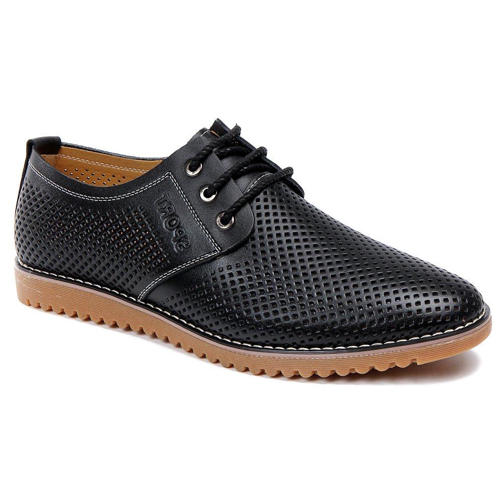CMM Men's Original Brogue Lace up Oxford Wedding Shoes 12in Black