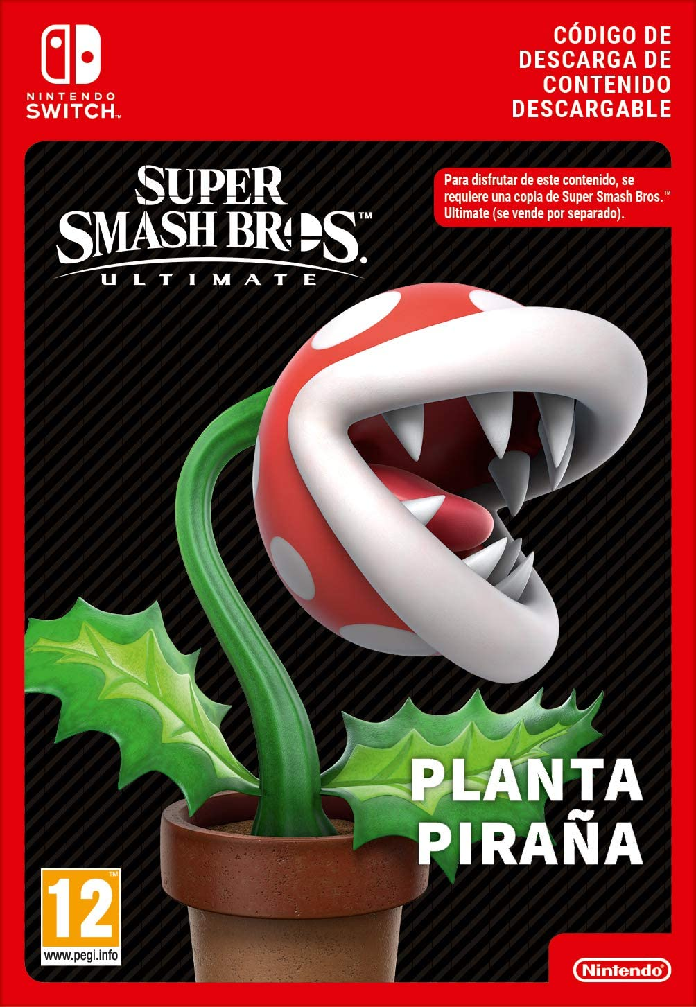 Smash Bro Ultimate Piranha Plant Fighter [Switch - Download Code ...