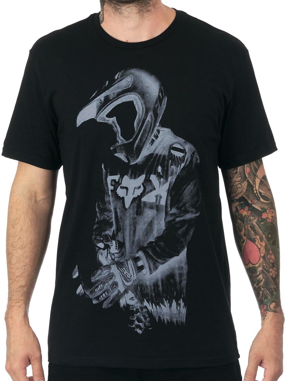 Fox Camiseta de Death by Momentum Negro Talla L  Amazon.es  Coche y moto 06e1145845a
