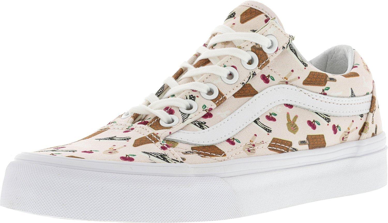Vans Old Skool Vansmoji Ankle-High Canvas Skateboarding Shoe 10 M US Women / 8.5 M US Men|Delicacy / True White