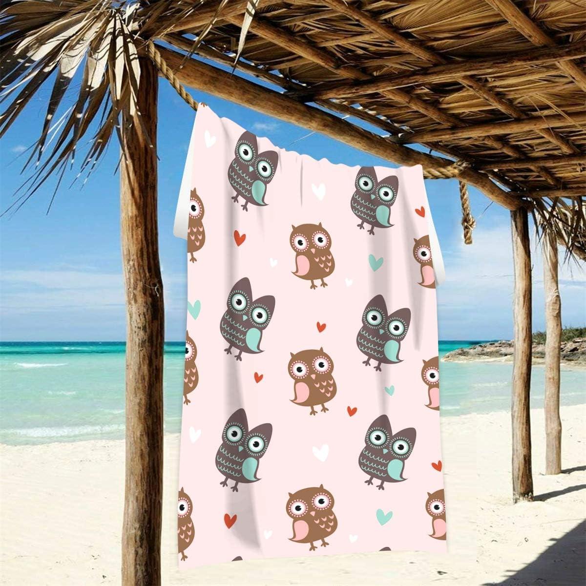 JIRT Toalla de Playa Grande 74 /× 37 en patr/ón de Patito Picnic Mat para Piscina de Viaje Ba/ño de nataci/ón Camping Yoga Gimnasio