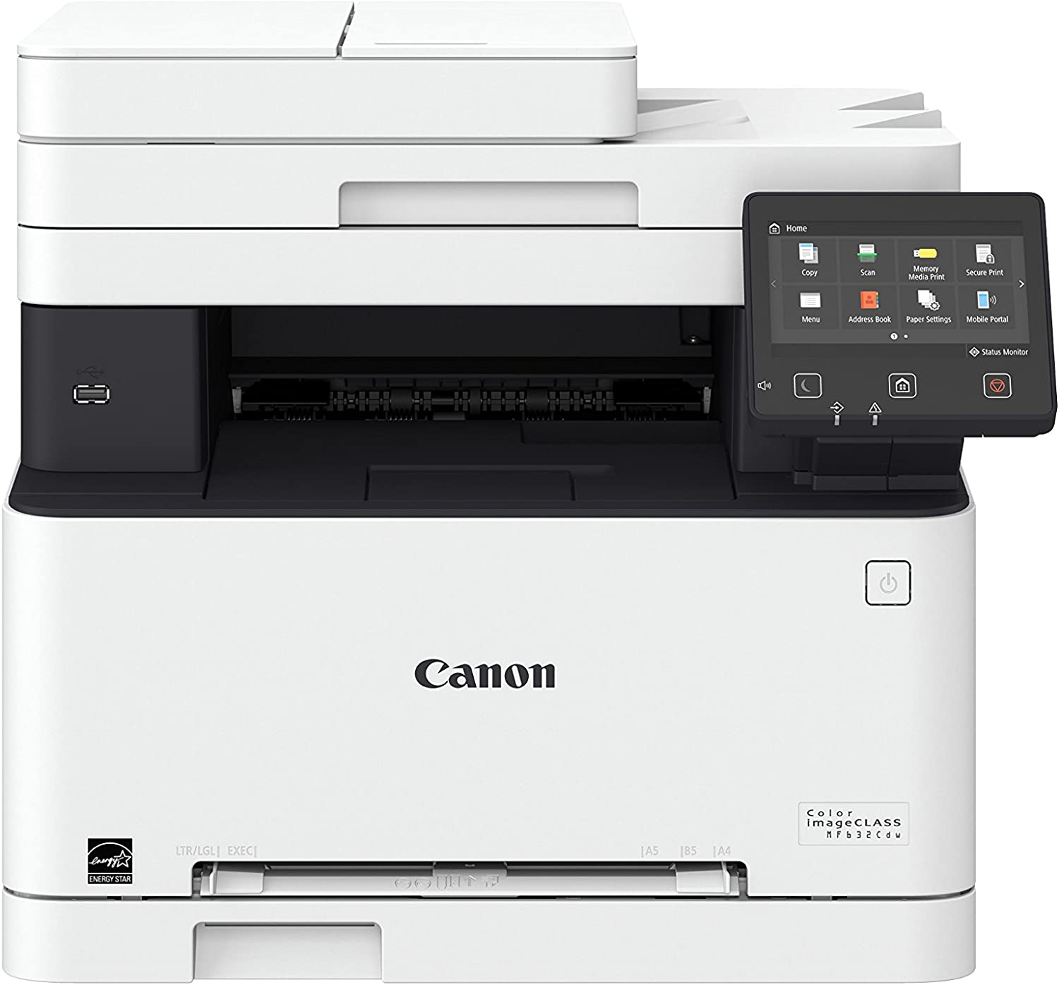 Canon Color imageCLASS MF632Cdw (1475C011) Multifunction, Wireless, Duplex Laser Printer, 19 Pages Per Minute (Comes with 3 Year Limited Warranty), Amazon Dash Replenishment Ready