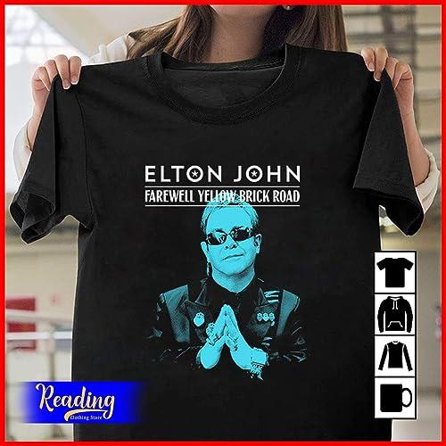 Elton John Tour 2020.Elton John Farewell Yellow Brick Road Tour 2019 2020 T
