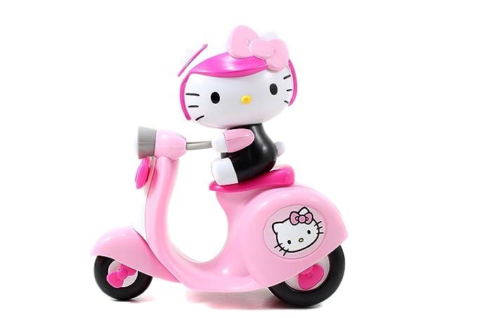 Amazon.com: Jada Toys Hello Kitty Push Along Scooter: Toys ...