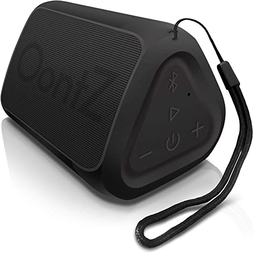 OontZ Angle Solo - Bluetooth Portable Speaker, Compact Size, Surprisingly Loud Volume Bass, 100 Foot Wireless Range, IPX5, Perfect Travel Speaker, Bluetooth Speakers by Cambridge Sound Works Black