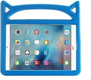 New Apple iPad 9.7-inch 2017/2018 Case,iPad Pro 9.7 2016/Air 2/Air Case,APLPJYR Apple Series Shockproof Case Light Weight Case With Handle for Apple iPad 9.7-inch 2017/2018/Pro 9.7/Air/Air 2 case blue