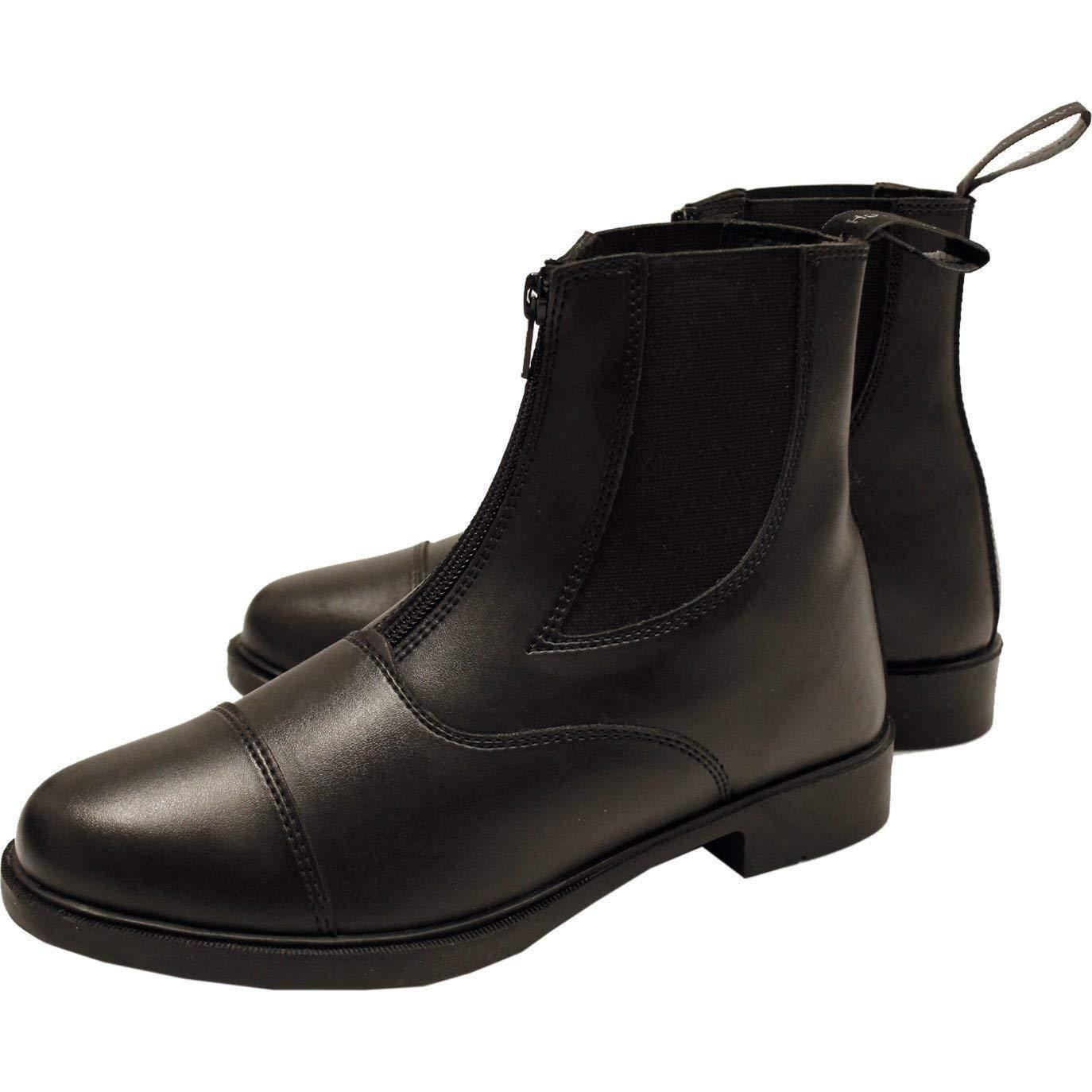 Horseware Short Riding Boot Zip Ladies B0713QWGHH 41 Eur ブラック ブラック 41 Eur