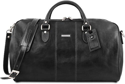 Tuscany Leather Lisbona Travel leather duffle bag