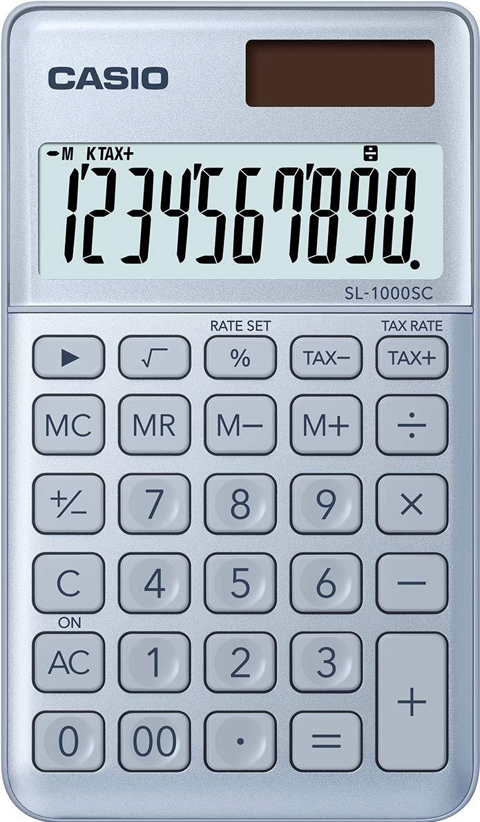 Casio SL-1000SC-WE Calcolatrice Tascabile Bianco