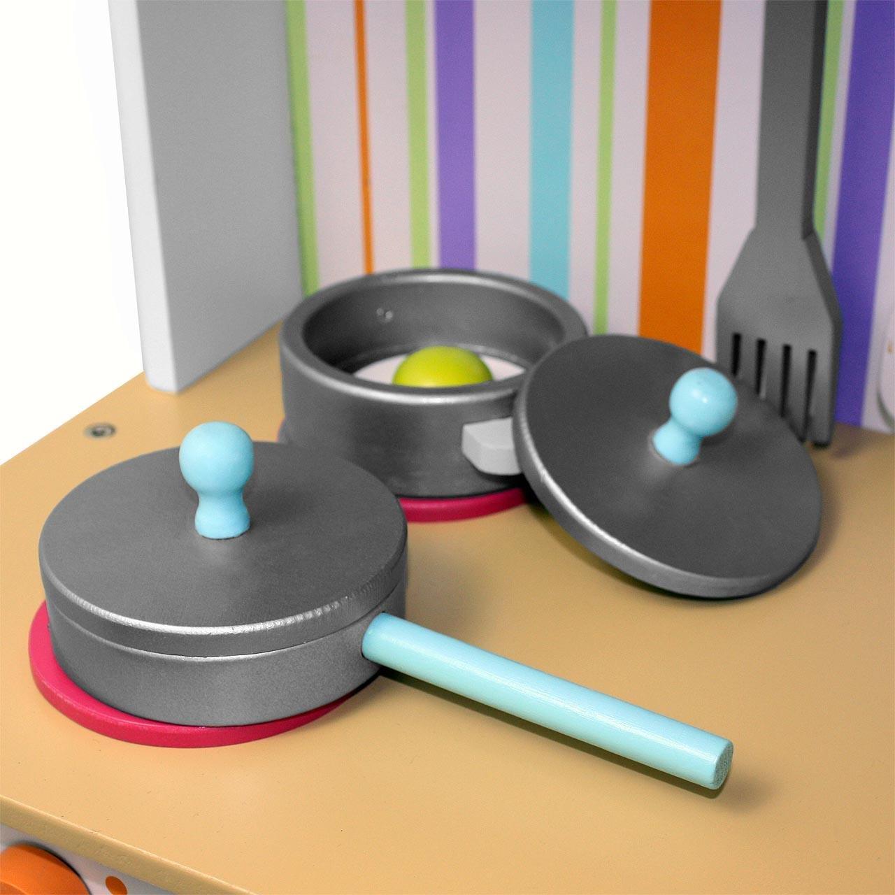 Froggy® Kinderküche Spielküche BTK01 Aus Holz: Amazon.de: Baby