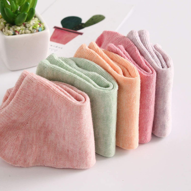 10 Pairs//Set Socks Cotton Woman Wide Stripes Socks Lady Boat Socks Low Short Ankle Socks