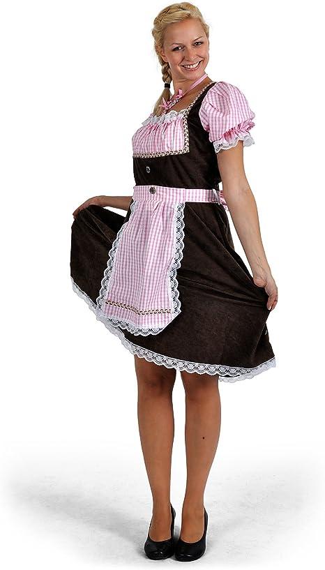 Disfraz de traje bávaro de mujer Resi, dirndl - vestido del traje ...