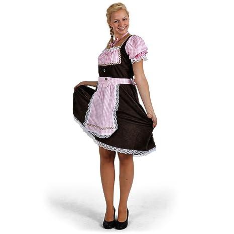 Disfraz de traje bávaro de mujer Resi, dirndl - vestido del ...