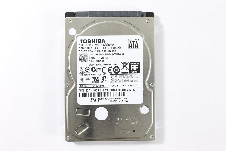 "Dell 1RRJT MQ01ABD032 2.5"" SATA 320GB 5400 Toshiba Laptop Hard Drive Latitude E6420 (Certified Refurbished)"