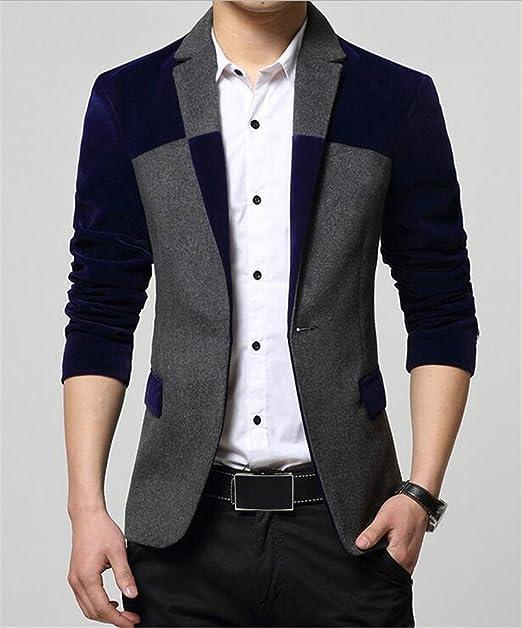 Amazon.com: neeker chamarra Blazers Hombres Moda para hombre ...
