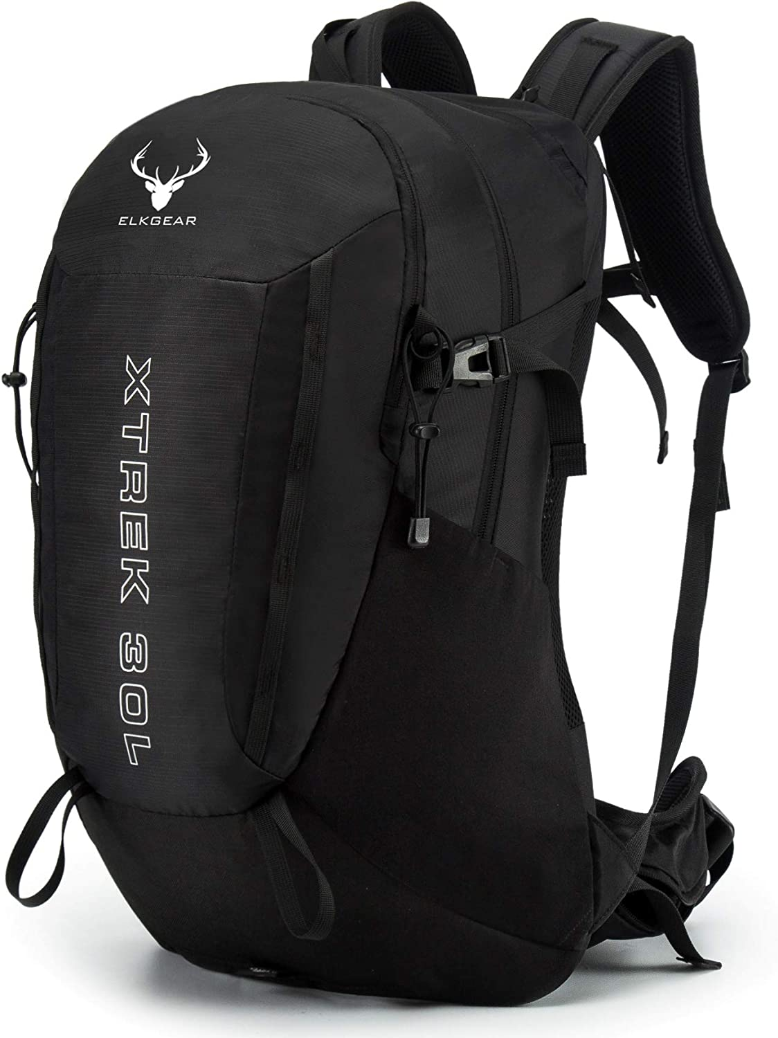 Internal Frame Hiking Backpack Lightweight and Waterproof with Rainfly