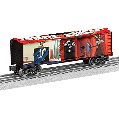 Lionel Trains - Looney Tunes Road Runner MUSA Boxcar, O Gauge: Toys & Games