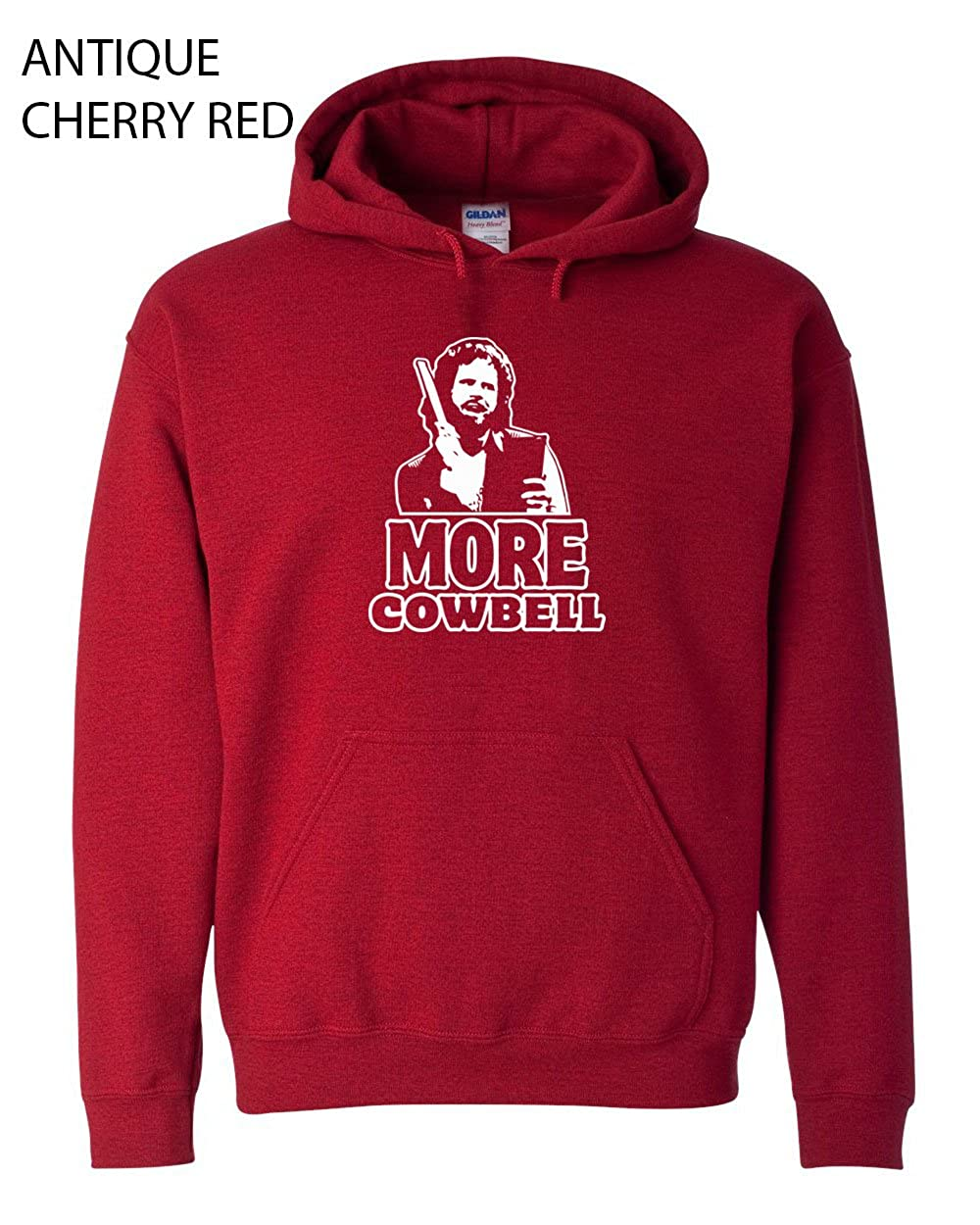 156 I Need More Cowbell Funny Hooded Sweatshirt