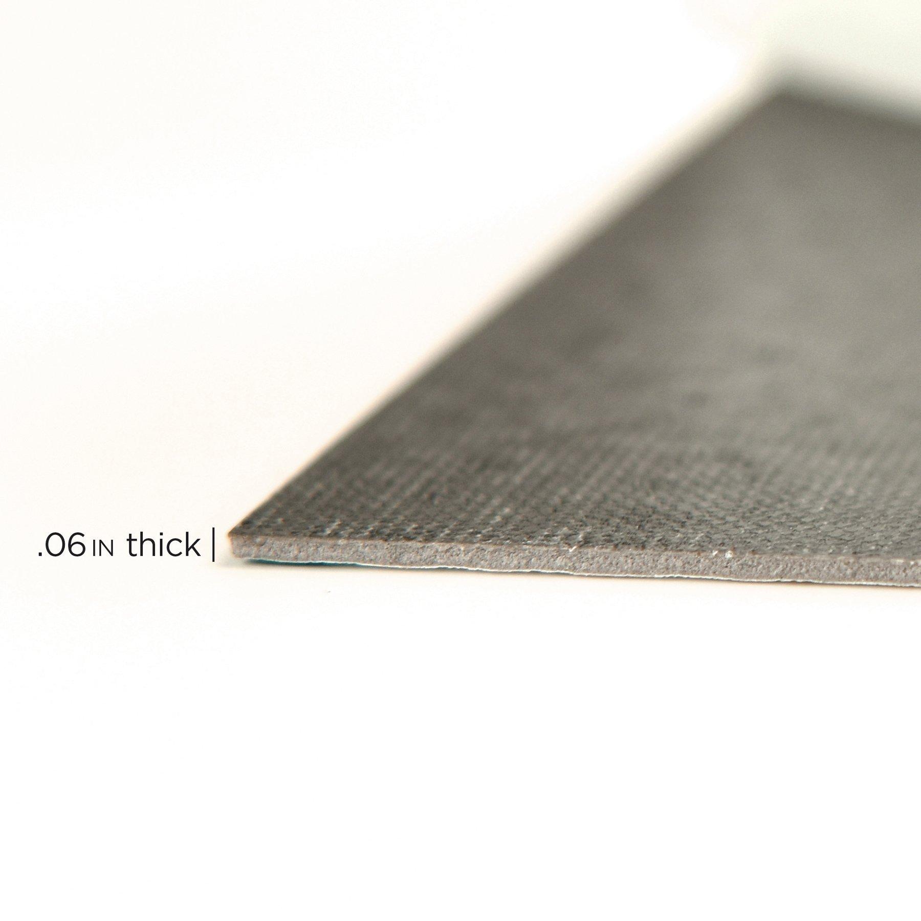 FloorPops FP2480 Comet Peel & Stick Tiles Floor Decal Black by FloorPops (Image #4)