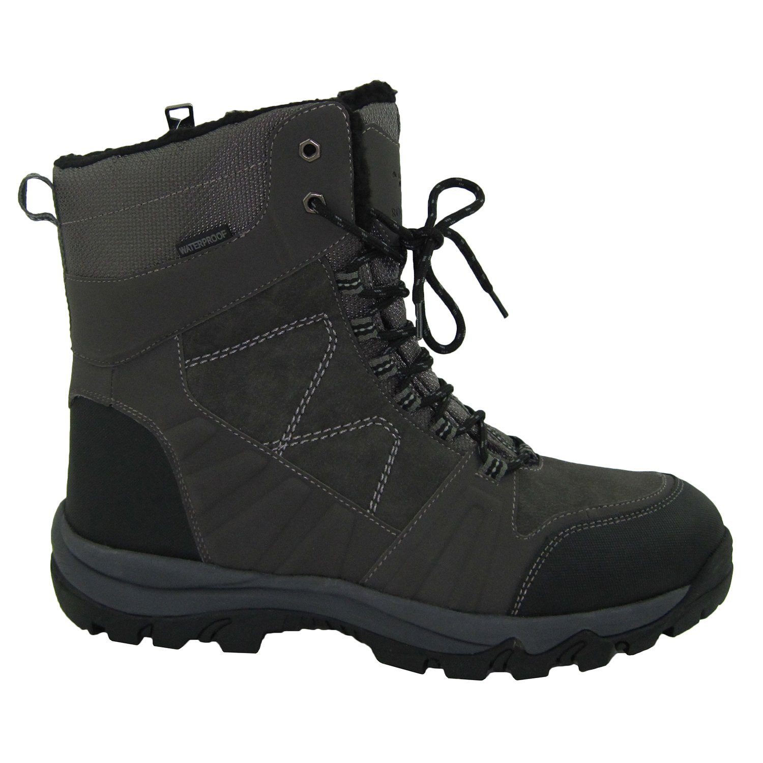 695caa96754 Rocky Moose Men's Winter Boots 3M Thinsulate Waterproof with Membrane Side  Zipper Temperature Rating -32°C Ohio
