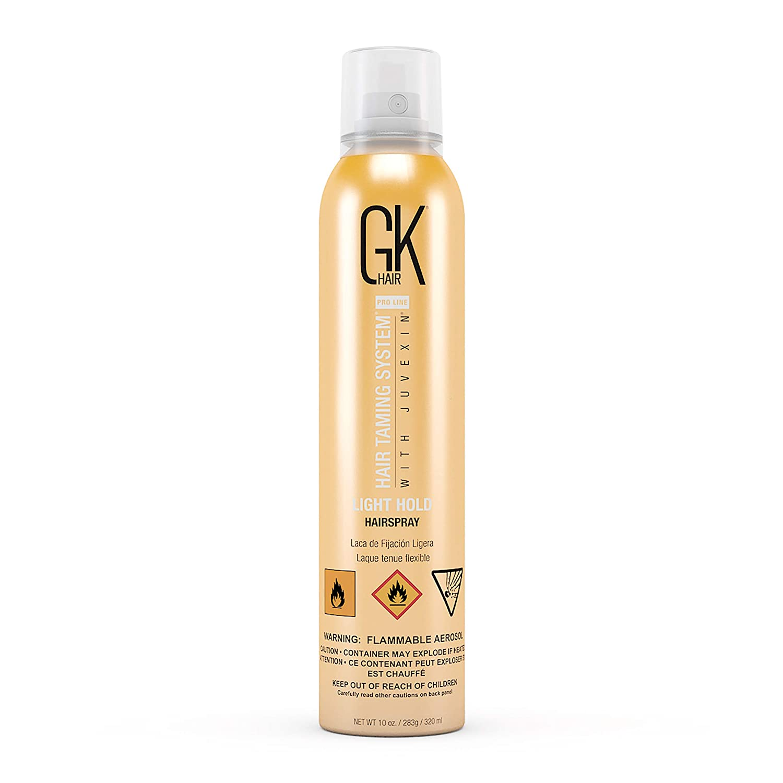 Amazon Global Keratin Gkhair Light Hold Hair Spray 320ml 10
