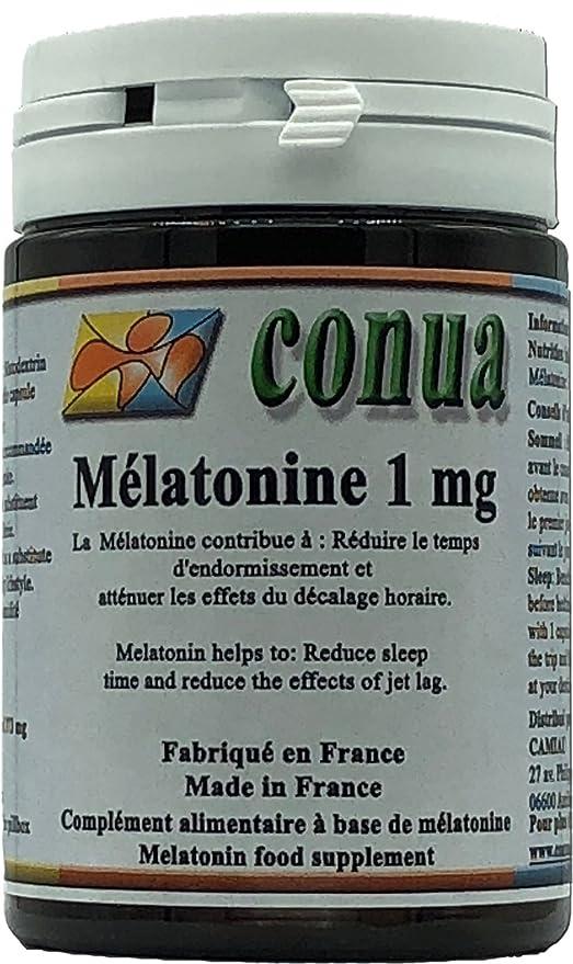 Melatonina 1mg reduce el tiempo de sueño, alivia los efectos del jet lag EFECTO BENEFICIARIO