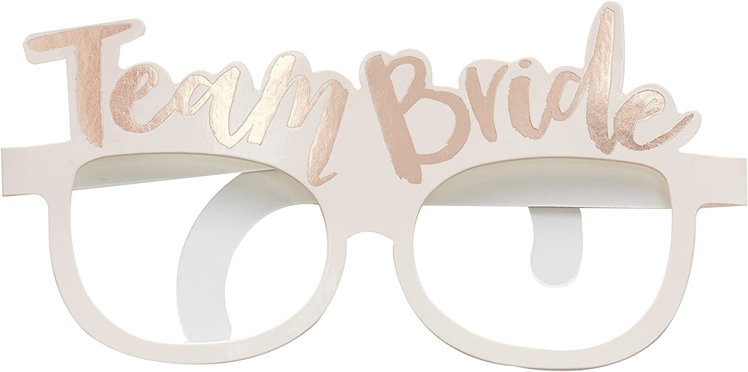 8 TEAM BRIDE /& BRIDE TO BE CARD GLASSES HEN NIGHT PARTY DO ACCESSORY PHOTO PROPS