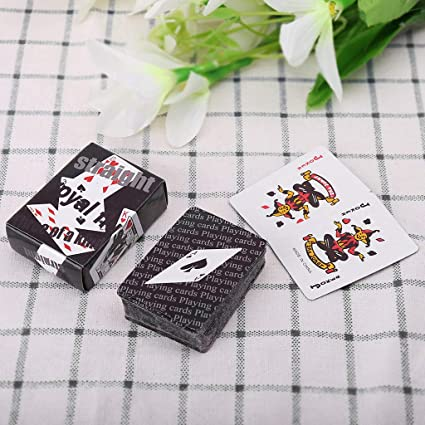 S-TROUBLE Mini naipe portátil Texas Holdem Juego de Mesa ...