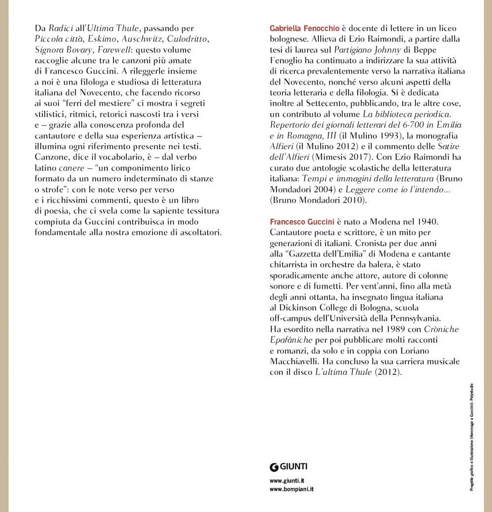 Canzoni Amazon It Francesco Guccini Gabriella Fenocchio