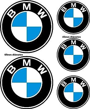 Adhesivos Reflectantes compatibles con BMW / 5 Unidades - Medidas ...