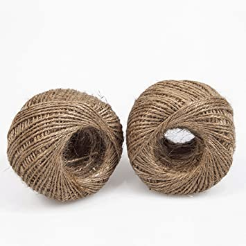 30M Colourful Jute Twine Rope Cord Ball