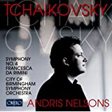 Tchaikovsky: Symphony No. 4, Francesca da Rimini (CBSO/Nelsons)