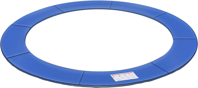 KIDUKU® Cubierta Protectora para Bordes de Cama elástica Cojín para resortes de trampolín 244 305 366 427 cm