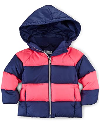 16e0632eb Amazon.com: Ralph Lauren Baby Girls' Rugby Quilted Down Jacket: Clothing