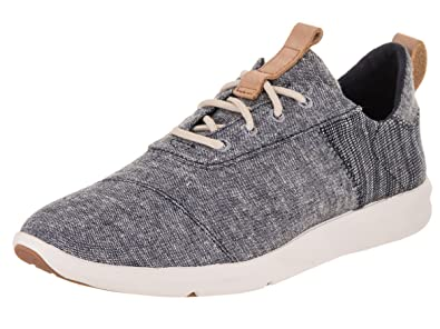 43ea7ec3667 Toms 10011748  Cabrillo Womens Navy Chambray Mix Sneaker (7 B(M) US