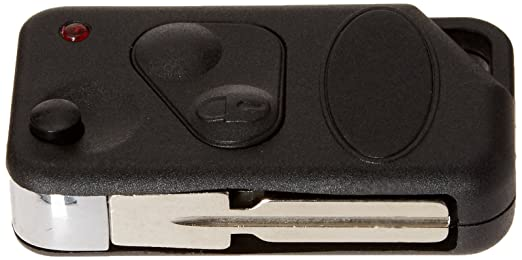 uxcell 2 Button Flip Key Case Fob Uncut Blade Blank for Land Rover Range Rover P38 a16070800ux0022