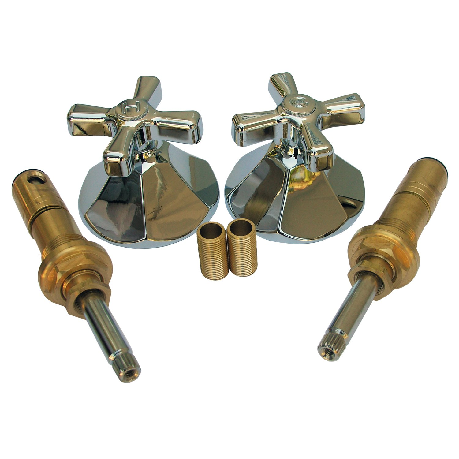 Charmant LASCO 01 9403 American Standard Renu Series Two Valve Tub Or Shower Trim  Kit With Stems Handles, Flanges And Nipples, Chrome   Faucet Trim Kits    Amazon.com