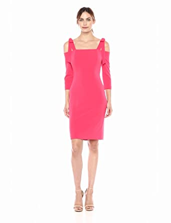 f0264348d7d0 Eliza J Women's Cold Shoulder Sheath Dress at Amazon Women's ...