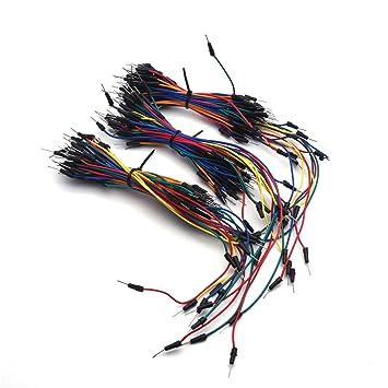 Antrader - Juego de cables flexibles para placa de pan, 12 cm, 16 cm