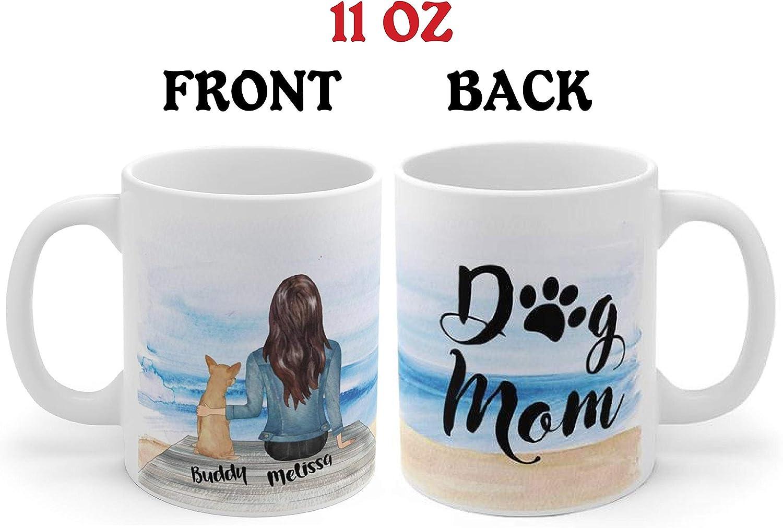 Taza personalizada para perro o mamá, taza de café para perro o amante de perro, taza de café para perro o mamá, regalo para perro