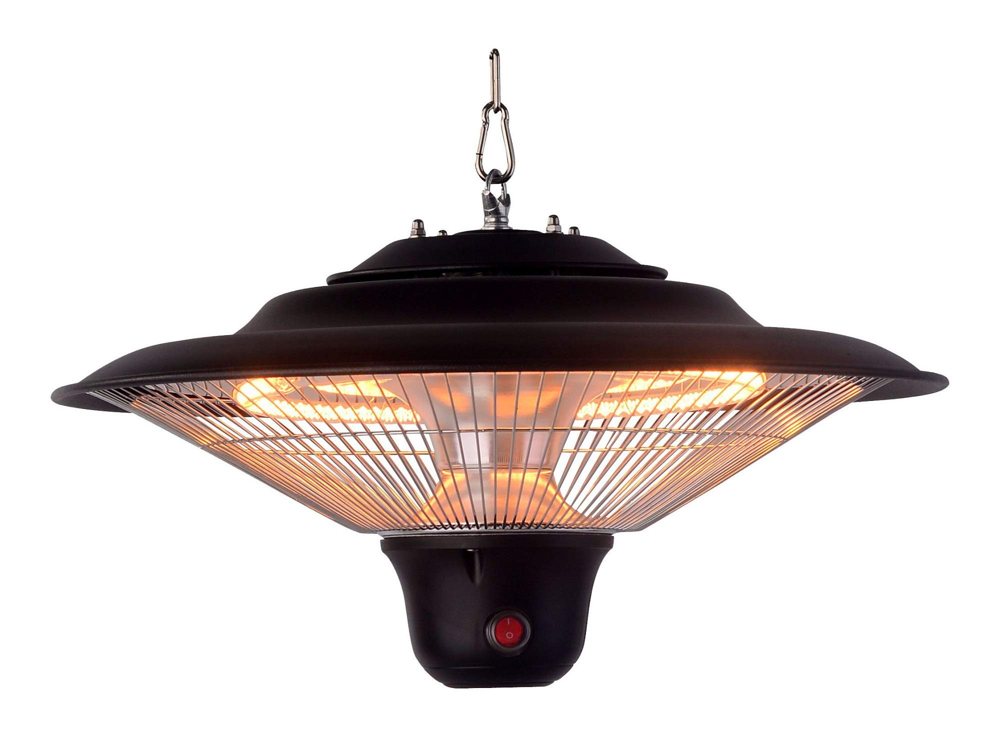 Optimus PHE-1500BR Garage-Outdoor Hanging Infrared Heater with Remote
