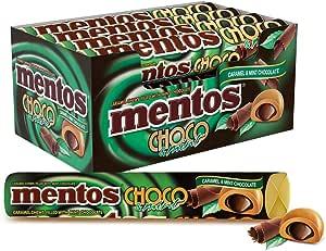 Mentos Choco Roll Mint, 12 x 38 g
