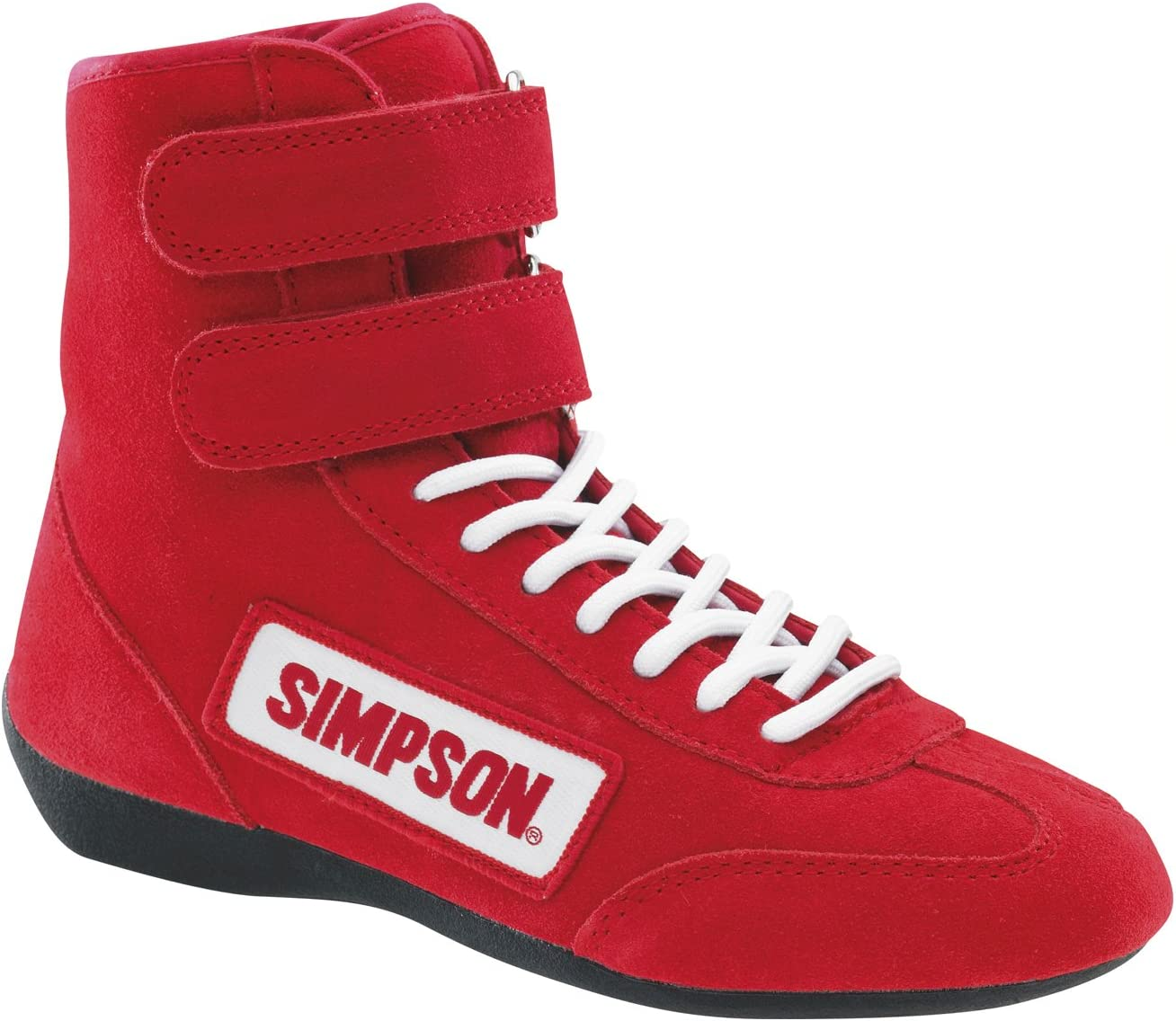 Simpson Racing 28900BL The Hightop Blue Size 9 SFI Approved Driving Shoes