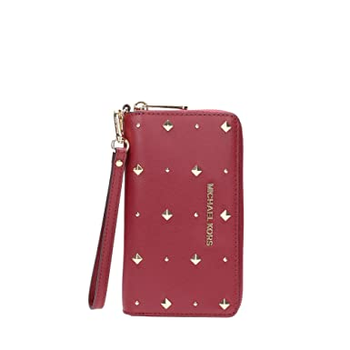 8630ae2ed190 Image Unavailable. Image not available for. Color  MICHAEL Michael Kors Jet  Set Travel Zip Around Travel Wallet ...