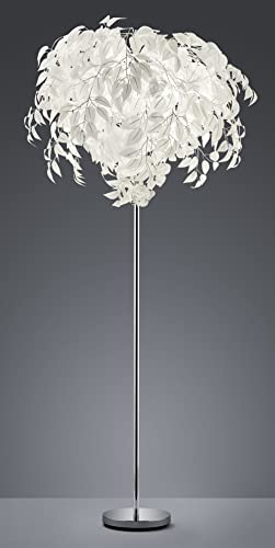 Reality Leuchten Leavy Sobremesa E27, 28 W, Cromo, 45 x 4 x 60 cm