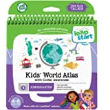 LeapFrog LeapStart Kindergarten Activity Book: Kids' World Atlas and Global Awareness, Great Gift for Kids, Toddlers, Toy for Boys and Girls, Ages 4, 5, 6