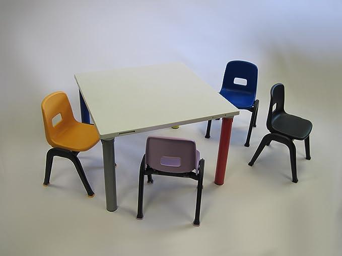 "Amazon.com: Modular Linking aula mesa para niños, 30"" ..."