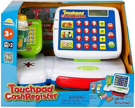 Caja Registradora con Accesorios Keenway 30214: Amazon.es: Juguetes y juegos