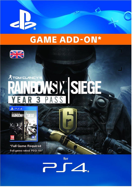 Tom Clancy's Rainbow Six Siege - Year 3 Pass Edition   PS4