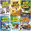 bear grylls adventure collection 6 books set the blizzard challenge the desert challenge the jungle challenge the sea challenge the river challenge the earthquake challenge